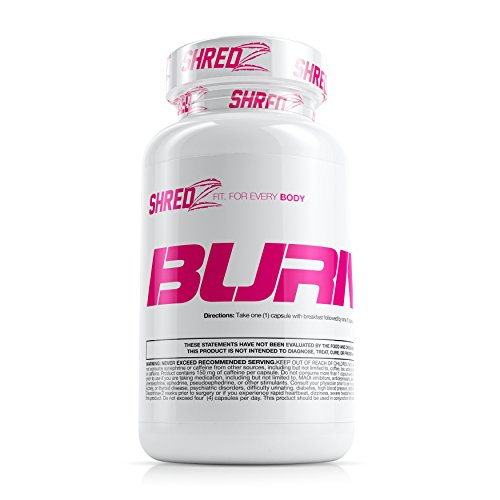 SHREDZ Fat Burner Supplement Pill for Women Lose Weight, Increase Energy, Best Way to Shed Pounds and Boost Metabolism
