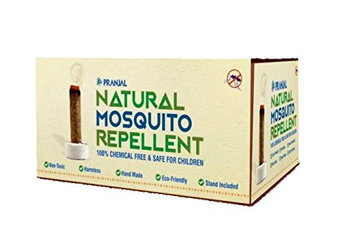 Amazon price history for 100% Pure & Harmless Organic Cow Dung Organic Mosquito Repellent 25 Sticks by Pranjal Farms