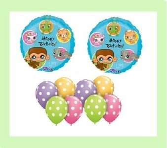 Littlest Pet Shop Birthday - LITTLEST PET SHOP BALLOON party birthday SUPPLIES KIT 7