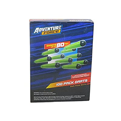 Adventure Force 100 darts refill: Toys & Games