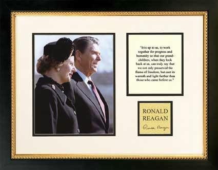 Pro Tour Memorabilia P80RRBU-R41 Ronald Reagan - Biography Series