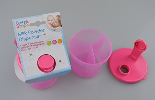 milk powder dispenser 3 compartments BPA Free 0mnths+ from First Steps by First Steps