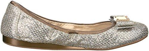 Cole Haan Kvinders Tali Bue Ballet Flad Guld / Sølv Glimmer uK4B7