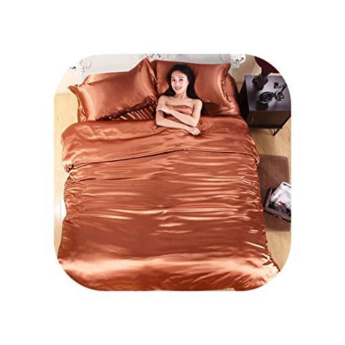 (QianQianStore Bedding Set Bedding Silk Frozen Quilt Set Piece Set Bed Pillow Case,King Queen Twin Size,Multi,Queen 3 pcs )