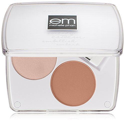 em michelle phan Shade Play Artistic Cheek Color Palette, Highlights I