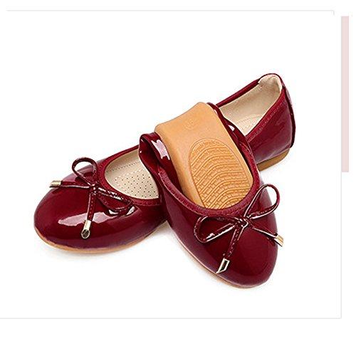 Zapatos Fondo Plano Zapatos Blando Único Zapatos De Mujer De Zapatos Zapatos Mujeres Suelo De Embarazadas De Rollos Primavera Torta Huevo GAOLIM La En Vino rojo1 Soja De 6BqHwtSRRx