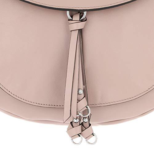 cuir Taille pâle Satchel Bag Unique ABRO Femme rose fRgna