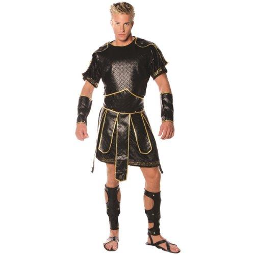 Underwraps Men's Spartan, Black/Gold, One Size ()