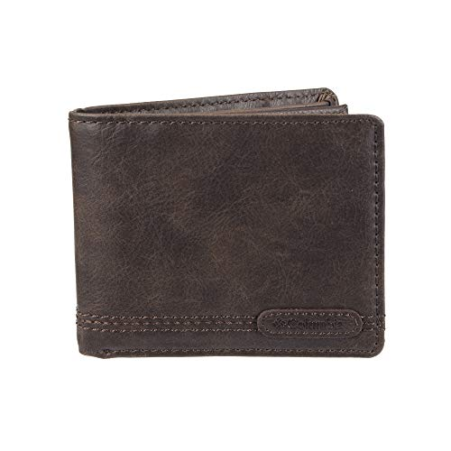 Columbia Men's 100% RFID Blocking Slimfold Wallet