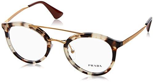 Prada Women's PR 15TV Eyeglasses White Havana 50mm
