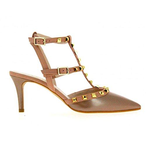 Zapato lodi con tachuelas - grupo turmo Marrón