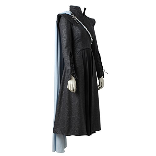CosplayDiy Women's Suit For Game Of Thrones VII Daenerys Targaryen Cosplay With Cloak M by CosplayDiy (Image #1)