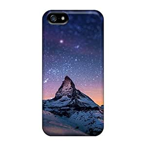BestSellerWen Fashionable Iphone 5/5s Case Cover For Snow White Mountain Protective Case