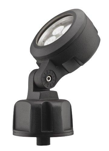 Lithonia Lighting OLBS 8 30K DDB M6 Outdoor LED Bullet 8-Inch 3000K Spotlight, Black Bronze by Lithonia Lighting