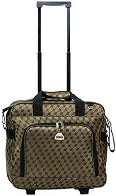 "laptop bag rolling shoulder travel case carryon wheel 16/"" computer"