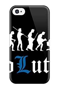 New Cute Funny Funny Human Evolutions Case Cover Iphone 4/4s Case Cover