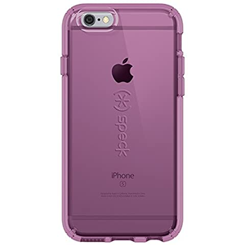 Speck Products CandyShell Clear Case for iPhone 6 Plus/iPhone 6s Plus, Beaming Orchid Purple (Iphone 6 Speck Clear Case)