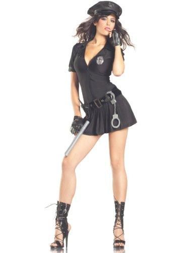 Costume Adventure Women's Sexy Cop Costume -1X/2X (Halloween Costumes Cop Woman)