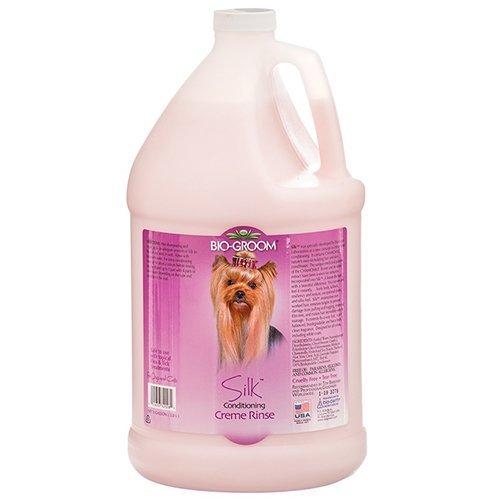 Bio-Groom Pet Silk Moisturising Creme Rinse, 1-Gallon by Bio-groom ()
