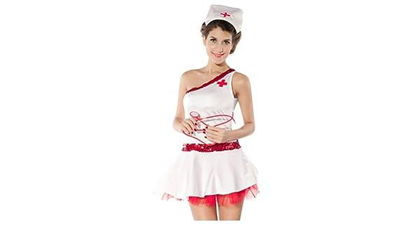 Puta de enfermera disfraz talla única Fenical: Amazon.es: Ropa y ...