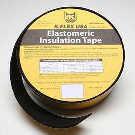 K-Flex Elastomeric Foam Tape With Scrim Psa, 1/8