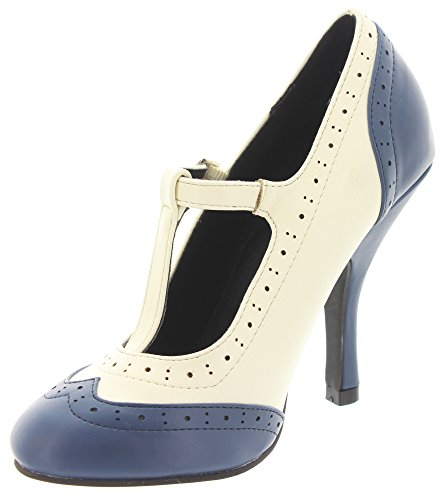 T.U.K. - Zapatos de vestir de Material Sintético para mujer Azul - azul