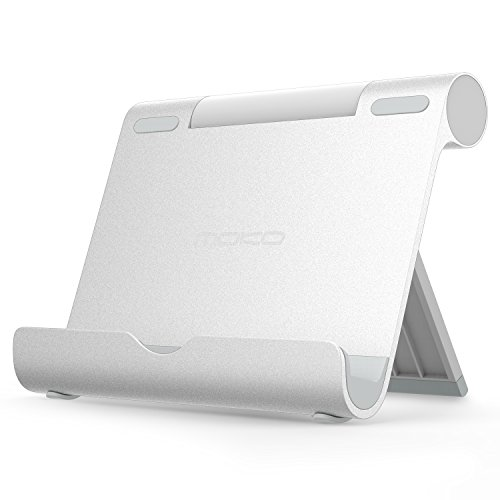 MoKo Tablet Stand, Aluminum Multi-angle Portable Fold-up Hol