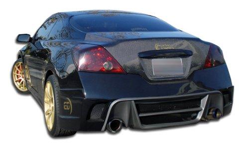 Gt Fenders Duraflex Concept (Duraflex ED-WSA-117 GT Concept Rear Bumper Cover - 1 Piece Body Kit - Fits Nissan Altima 2008-2012)