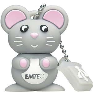 Emtec EKMMD8GM312 - Memoria USB de 8 GB, diseño Mouse