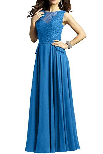 Formal Charmant Brautmutterkleider Damen Spitze Kleider Langes Linie Blau Promkleider Partykleider Royal Blau A 6wqH1Yx6