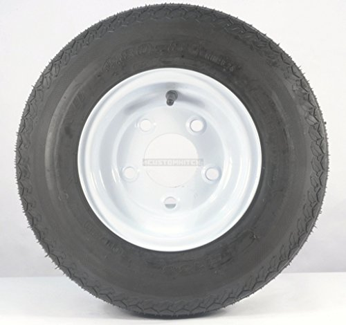 eCustomRim 01C Trailer Tire + Rim 4.80-8 480-8 4.80 X 8 8