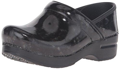 Dansko Women's Professional Mule, Black Marbled Patent, 39 M EU / 8.5-9 B(M) US by Dansko (Image #1)