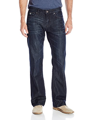 GUESS Mens Relaxed Riverfront Jean