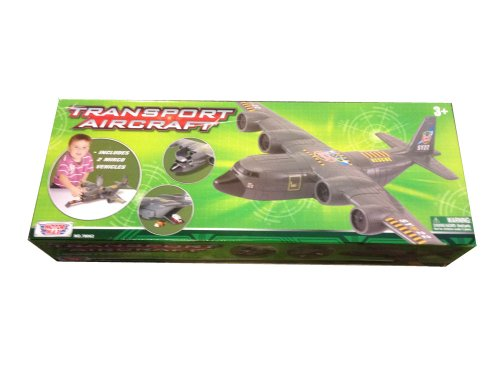 Military Transport Plane Play Set - 18