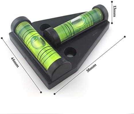 UBEI RV T-Level incassable Niveau /à bulles 2 voies multifonction pour camping-car machines fraisage remorques /équipement photo 4 pi/èces etc. maison loisirs construction meubles tr/épieds