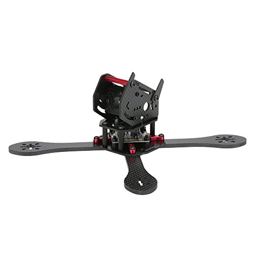 (JIMI Original GEPRC GEP-ZX5 190mm Wheelbase FPV Quadcopter Carbon Fiber Frame with PDB Kit for 190mm Racing Drone)