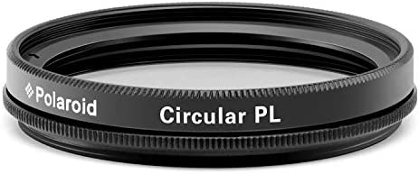Polaroid Optics 43mm Multi-Coated Circular Polarizer Filter [CPL] For 'On Location' Color Saturation, Contrast & Reflection Control– Compatible w/ All Popular Camera Lens Models