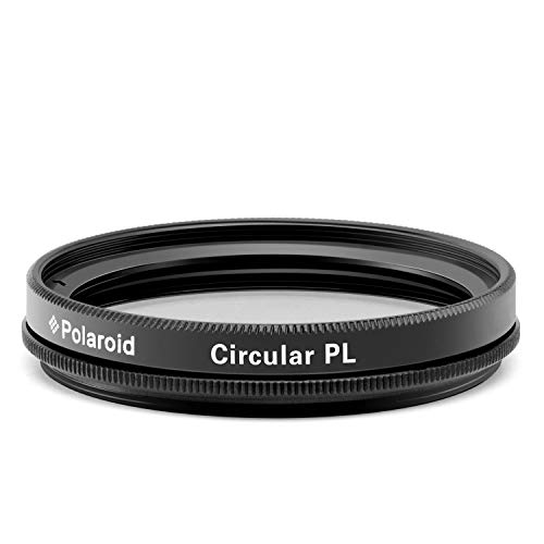 Polaroid Optics 72mm Multi-Coated Circular Polarizer Filter [CPL] For 'On Location' Color Saturation, Contrast & Reflection Control– Compatible w/ All Popular Camera Lens Models