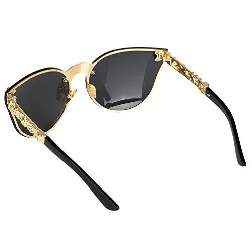 de Color4 al Estilo VBIGER Gafas libre y mujeres Eye aire Cat sol para hombres 5qxfWWOgZF