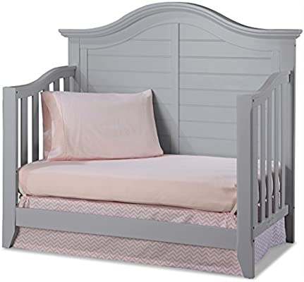 Thomasville Kids Southern Dunes Lifestyle 4 In 1 Convertible Crib Pebble Gray Easily Converts To Toddler Bed Day Bed Or Full Bed Three Position Adjustable Height Mattress Mattress Not Included Amazon Sg Baby