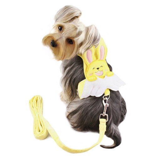 "UPC 654367697641, Adorable Bunny Angel Dog Harness Size: X-Large (14"" - 16"" L)"