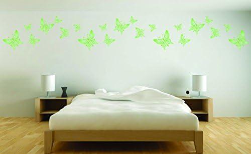 Amazon com: Butterfly Stencil Border - (size 10