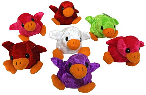 Plush birds Mini stuffed animals bulk pack of 12
