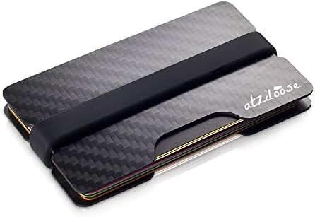 Wallets for Men Carbon Fiber Slim Credit Card Wallet, RFID Blocking Wallet, Gifts for Him