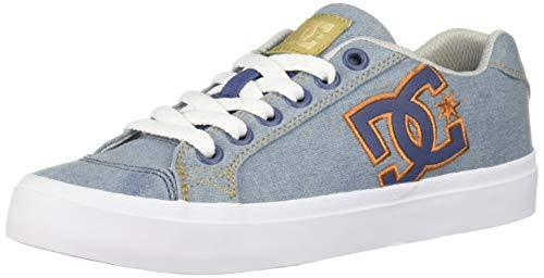 DC Women's Chelsea Plus TX SE Skate Shoe, Denim, 6.5 M US