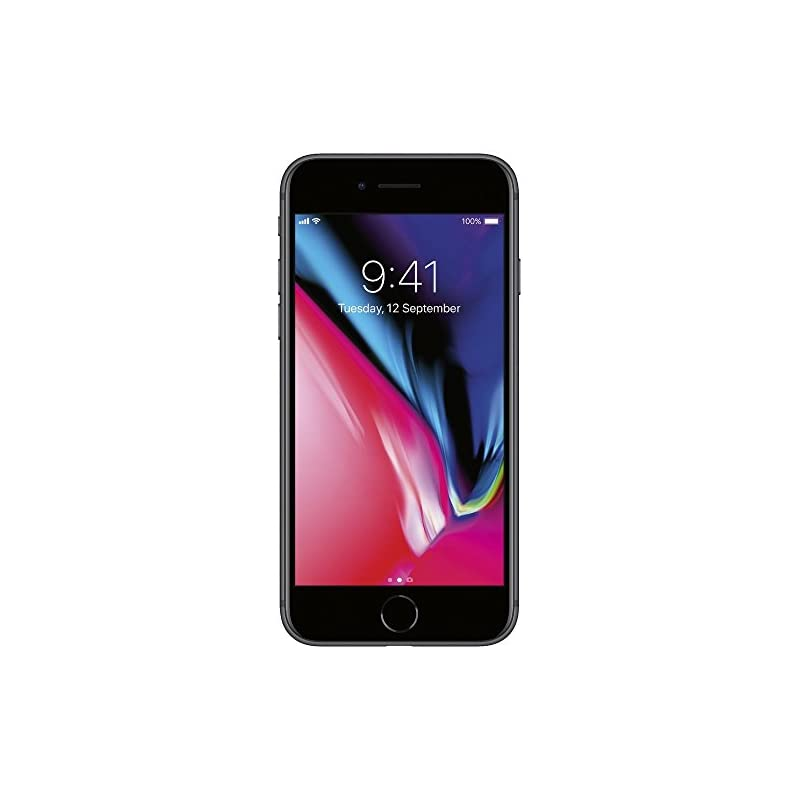 """Apple iPhone 8 4.7"""", 64 GB, AT&T, Space"""