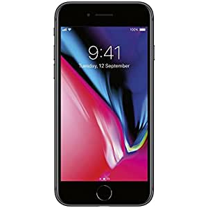 """Apple iPhone 8 4.7"""", 64 GB, AT&T, Space Gray, Locked to AT&T"""
