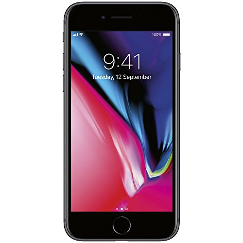 Apple iPhone 8 4.7″, 64 GB, AT&T, Space Gray, Locked to AT&T