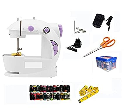 Ashlesha Premier Sewing Machine With All In One Kit Multicolour New All In One Sewing Machine