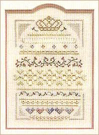 (Crowning Glory, Cross Stitch from Victoria Sampler)